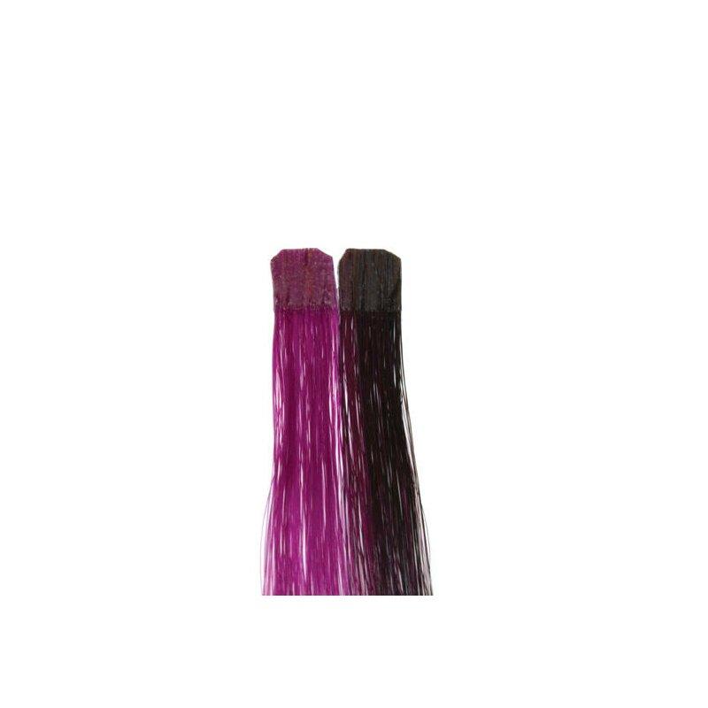 Image of Balmain CF 25 cm wild berry Color Flash human hair