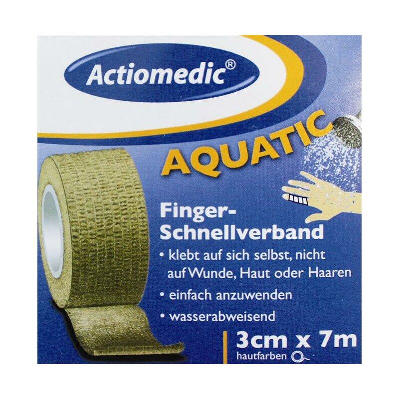 Image of Actioplast Schnellverband hautfarben 3 cm x 7 m