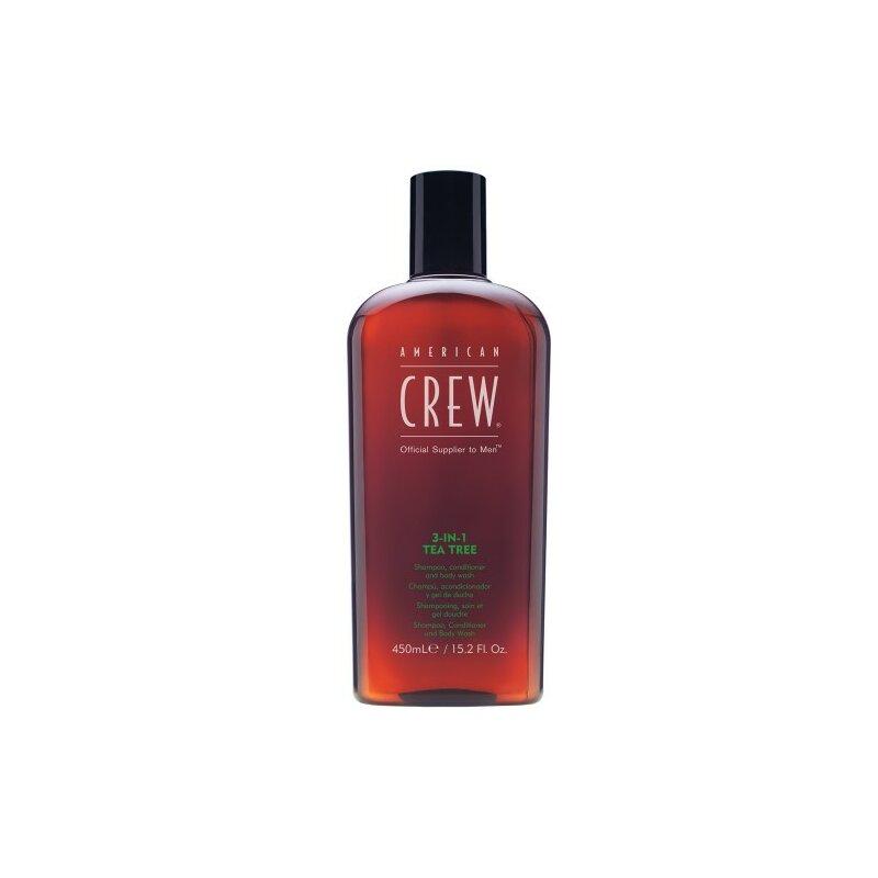 Image of American Crew 3in1 Tea Tree 450 ml
