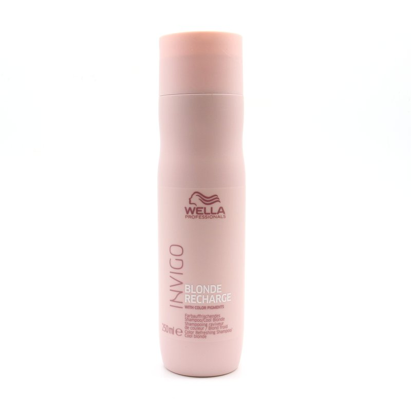 Wella Invigo Blond Recharge Cool Blonde Color Refreshing Shampoo 250 ml