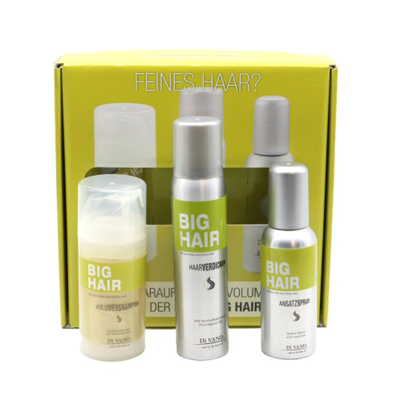 Image of DiVano BIG HAIR Haarverdicker Startset Aerosol 3x100ml