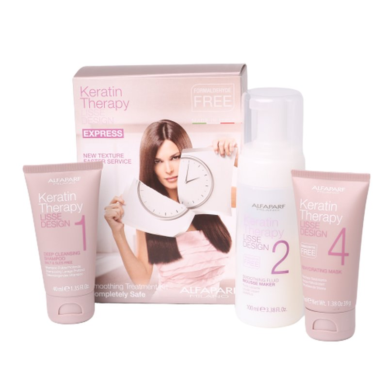 Image of Alfaparf Lisse Design Keratin Therapy Express Kit