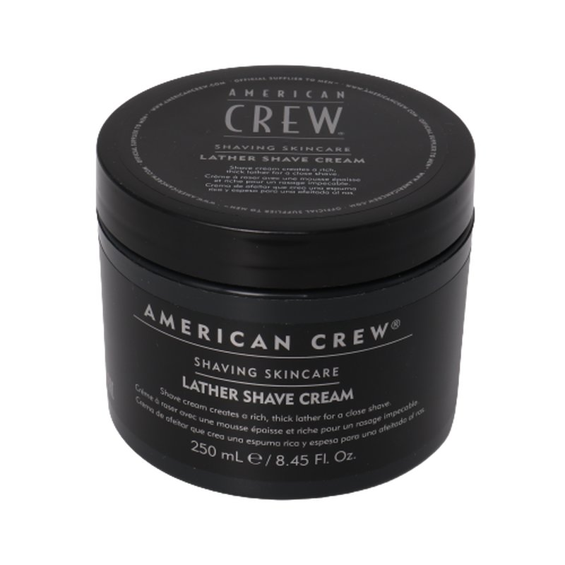 Image of American Crew Shave Lather Shave Cream 250ml