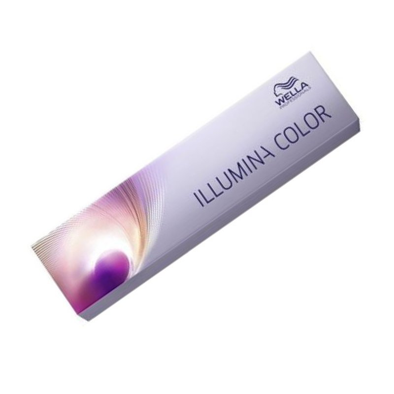 Image of Wella Illumina Color 8/05 hellblond natur-mahagoni 60ml